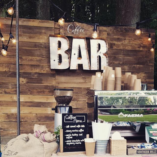 Mobile coffee bar