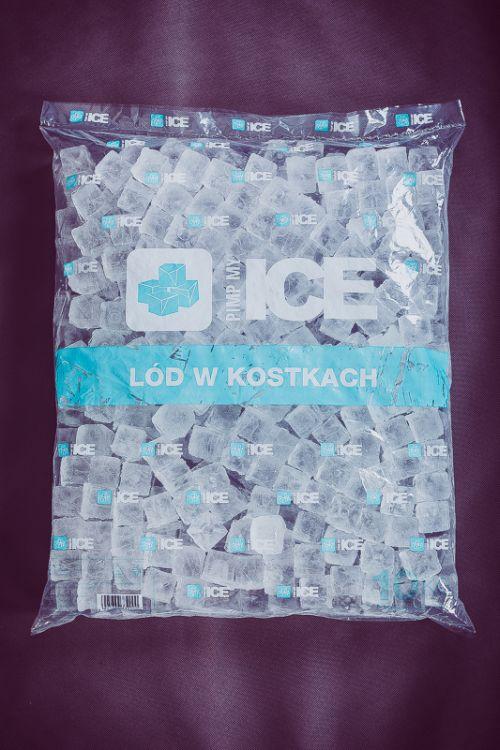 Worek lód w kostkach Poznań